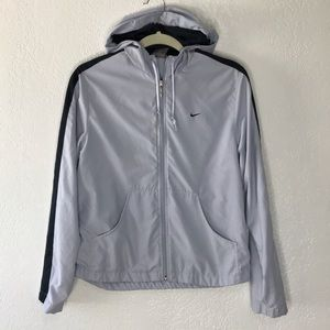 Nike Sports Jacket Size S color Light Blue